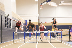 Indoor track ends season on a high note at Peddie Invitational