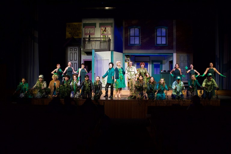 Upper School thespians' Little Shop of Horrors receives rave reviews!