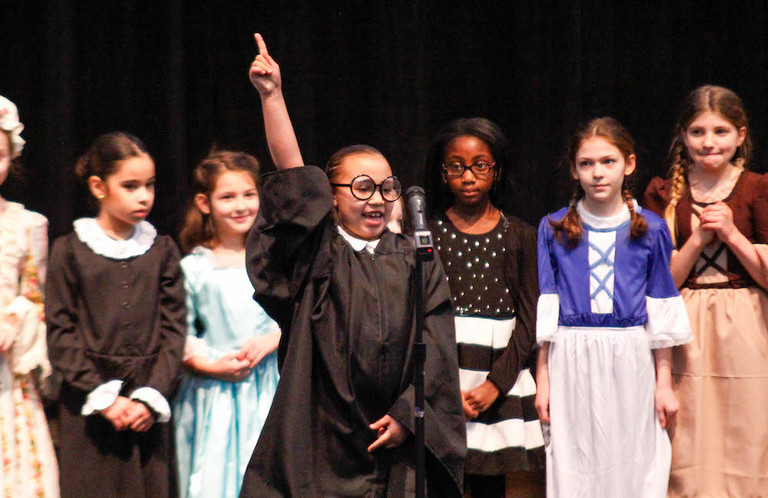 Lower School students honor their SHEroes at 36th annual Women We Admire Day