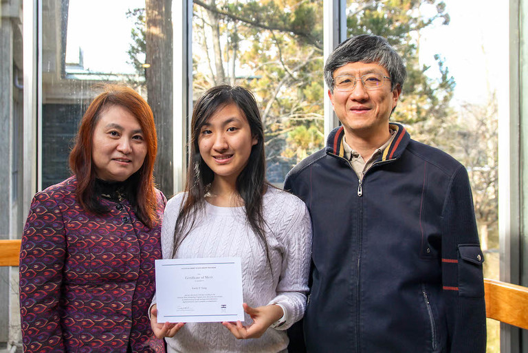Emily Yang '19 is named a National Merit Scholarship Finalist