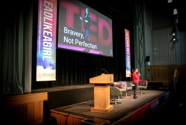 Bravery and persistence are key takeaways at inspirational #LEADLIKEAGIRL conference