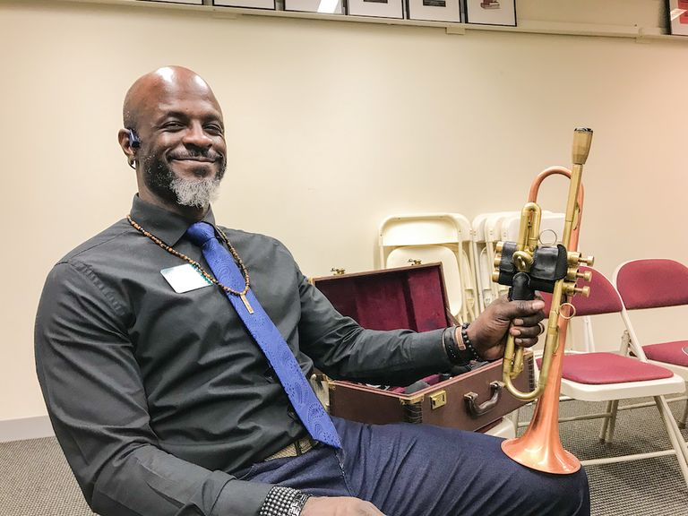 Faculty Spotlight: 4 questions with Instrumental Music Teacher Mario Murray