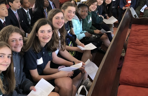 Middle School students explore topics of social justice and positive change at Stay Woke Conference