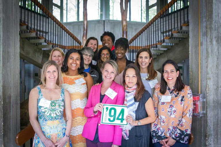 Stuart celebrates 56 years of leading with heart at Alumnae Weekend