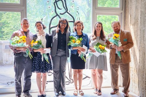 Stuart Board of Trustees honors five faculty and staff members with 2019 Sacred Heart Goal Awards
