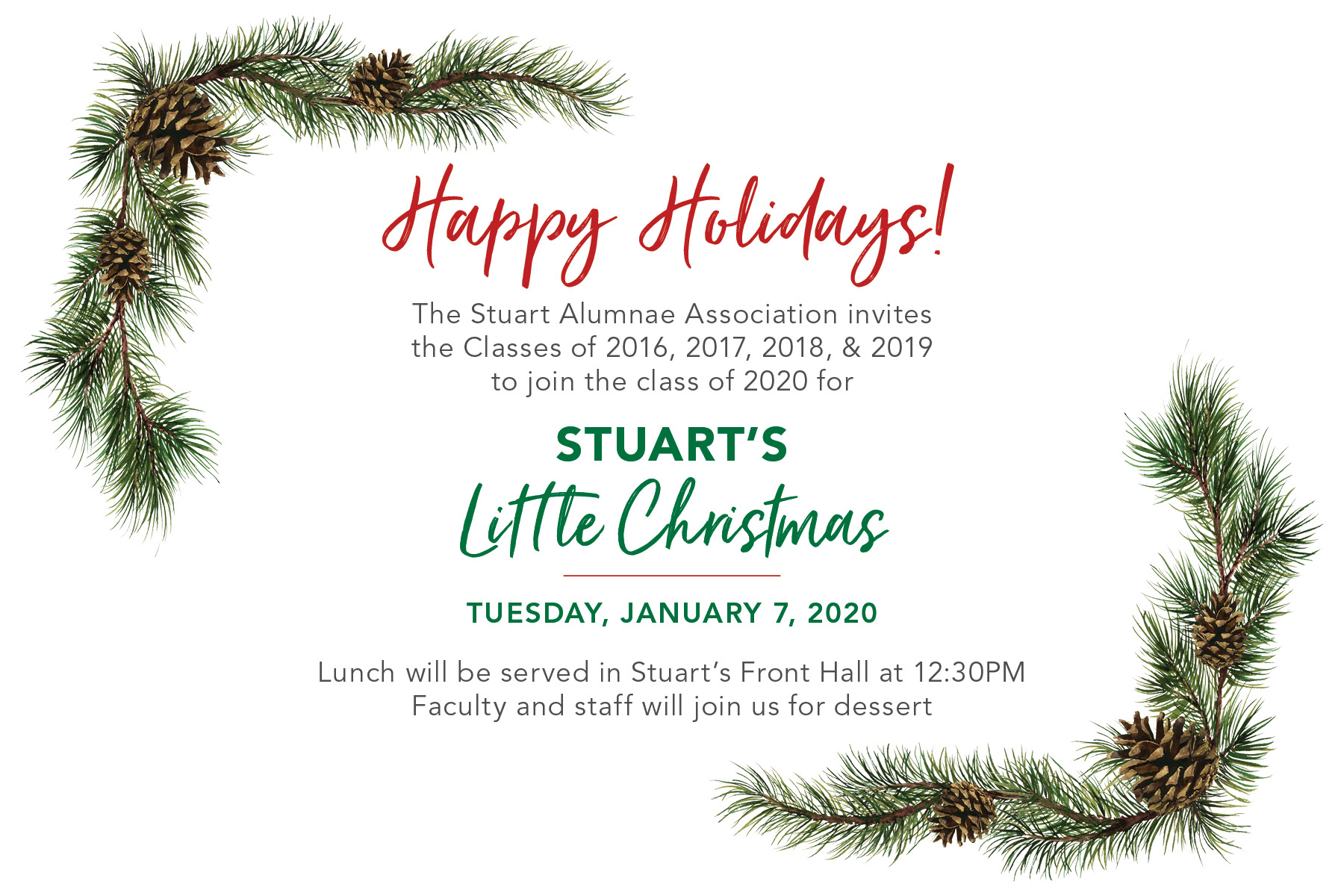 When Is Little Christmas 2020 Little Christmas RSVP   Stuart Country Day School of the Sacred Heart